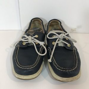 Sperry Navy Blue boat shoes